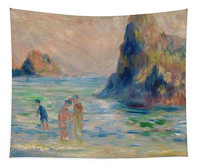 Moulin Huet Bay, Guernsey Tapestry