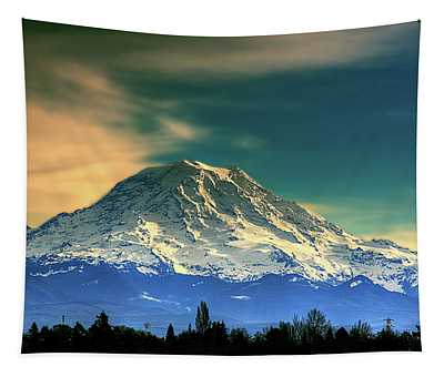 Mount Rainier Tapestry