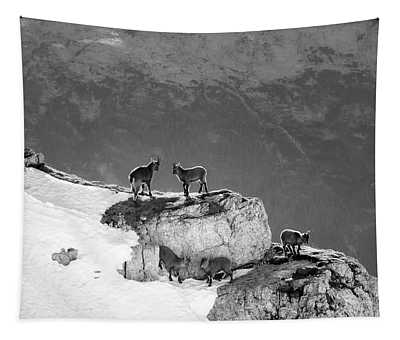 Mountain Goats Tapestry