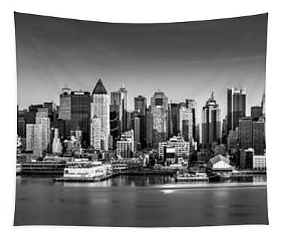 New York City Panorama Tapestry