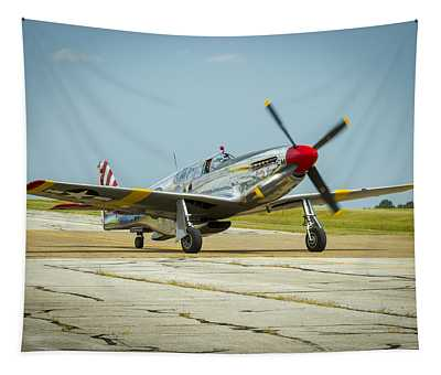North American Tp-51c Mustang Tapestry