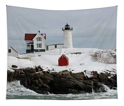 Nubble Point Maine Tapestry