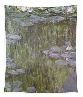 Nympheas At Giverny Tapestry