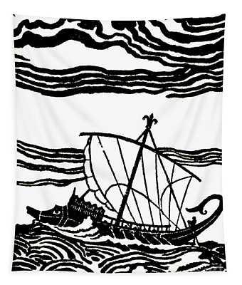 Odysseus's Ship Tapestry