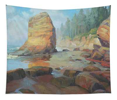 Otter Rock Beach Tapestry