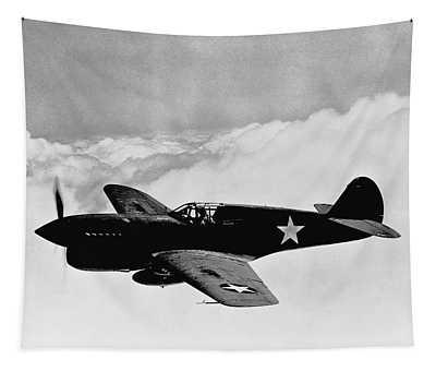 P-40 Warhawk Tapestry