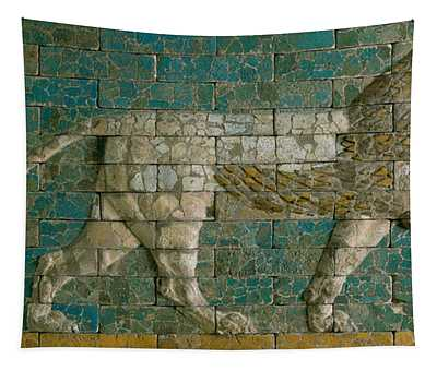 Panel With Striding Lion Tapestry