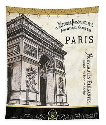 Paris Ooh La La 2 Tapestry