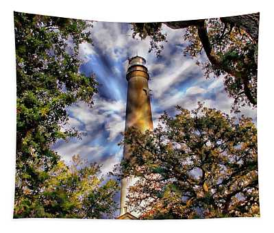 Pensacola Lighthouse Tapestry