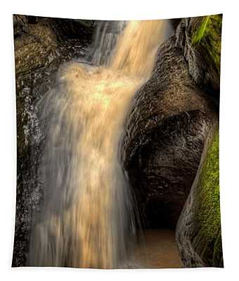 Pewits Nest Middle Waterfall Tapestry