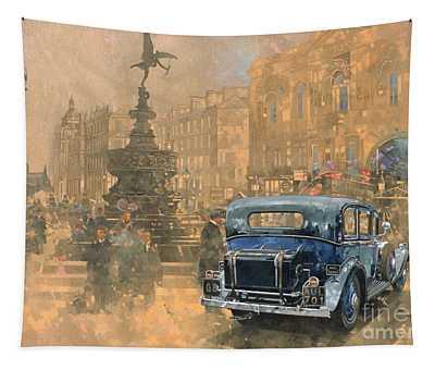 Phantom In Piccadilly  Tapestry