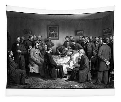 President Lincoln's Deathbed Tapestry