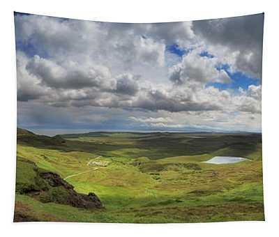 Quiraing And Trotternish - Panorama Tapestry