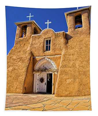 Ranchos De Taos Church  Tapestry