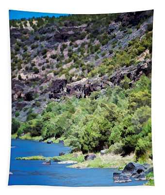Rio Grande Gorge  Tapestry