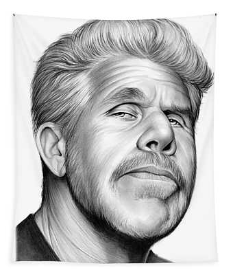 Ron Perlman Tapestry