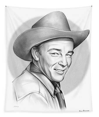 Roy Rogers Tapestry
