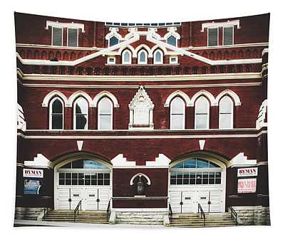 Ryman Auditorium -the Home Of Country Music Tapestry