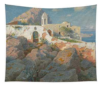Santa Maria A Cetrella  Anacapri Tapestry
