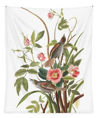 Seaside Finch Tapestry