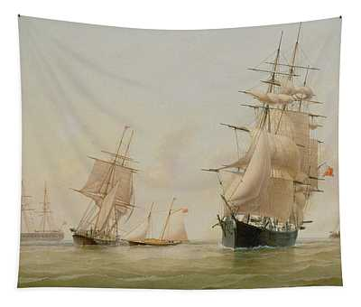 Ship Painting Tapestry