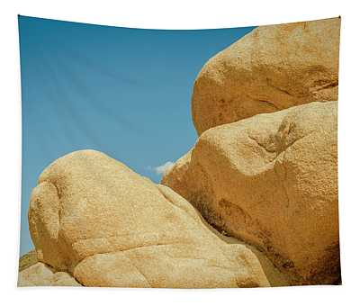 Stacked Boulders Joshua Tree Tapestry