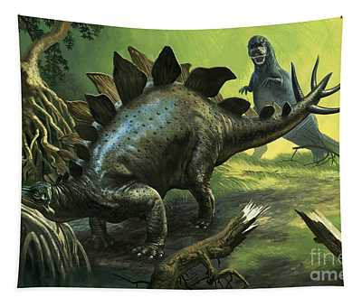 Stegosaurus Tapestry