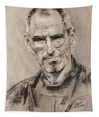 Steve Jobs Tapestry