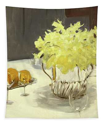 Still Life With Daffodils Tapestry