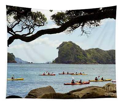 Stingray Cove, Kayakers Paddling Tapestry