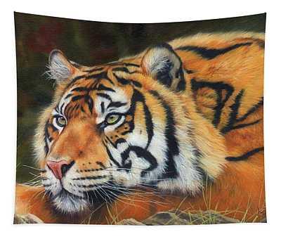 Sumatran Tiger  Tapestry