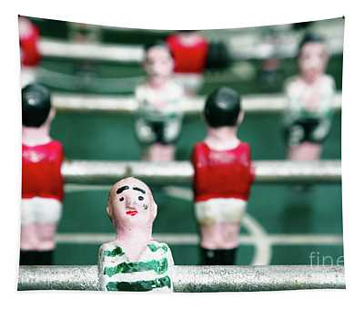 Table Soccer Tapestry