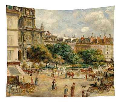 Place De La Trinite, 1893 Tapestry
