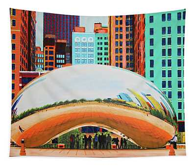The Bean At Milly Park Tapestry