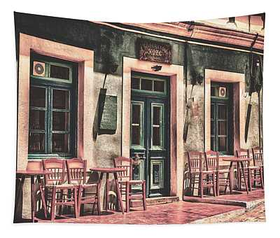 The Corner Cafe Tapestry