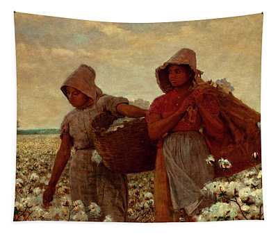 The Cotton Pickers Tapestry