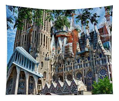 The Expiatory Temple Of The Holy Family Tapestry