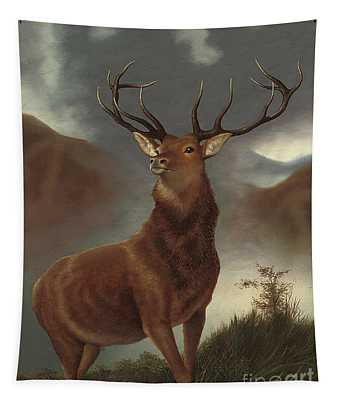 The Monarch Of The Glen Tapestry