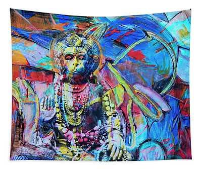 The Monkey God Tapestry