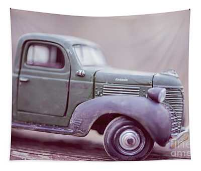 The Old Farm Truck Tapestry