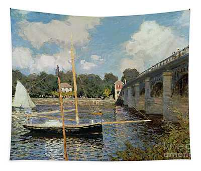 The Seine At Argenteuil Tapestry