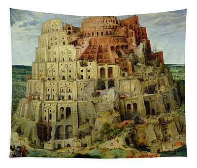 Tower Of Babel Tapestry