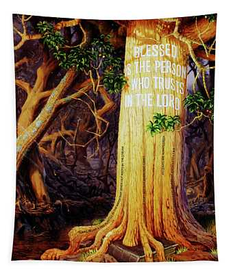 Trust In The Lord Tapestry