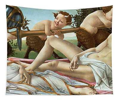 Venus And Mars Tapestry