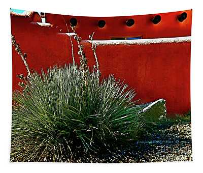Yucca And Adobe Tapestry