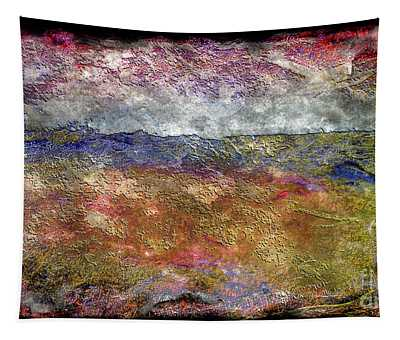 10c Abstract Expressionism Digital Painting Tapestry