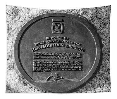 10th Mountain Division Tapestry