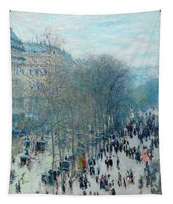 Boulevard Des Capucines Tapestry