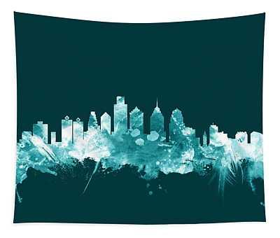 Philadelphia Pennsylvania Skyline Tapestry