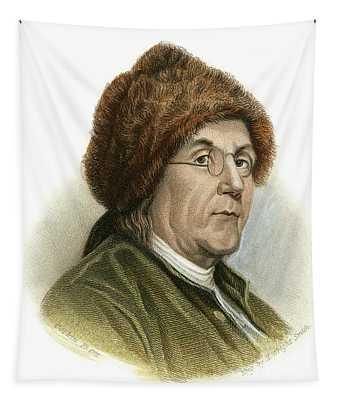 Benjamin Franklin, 1706-1790 Tapestry